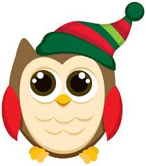 owl christmas clip art clipart collection