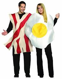 Halloween Costume Peanut Butter Jelly Amazon Rasta Imposta Bacon Eggs Couples Costume White