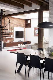 old fire station turned into dashing modern industrial loft in