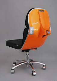 Modern Office Furniture Vintage Vespa Parts Recontextualized As Sleek Modern Office