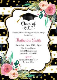 graduation invitation for girls graduation party invitation