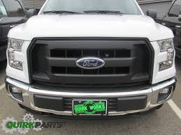 small black jeep 2015 2017 ford f 150 molded carbon black grille radiator grill