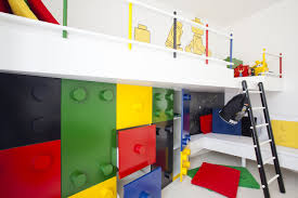 Kid Bookshelf Lego Furniture For Kids Rooms Circles Arise Chocolate Plain Modern