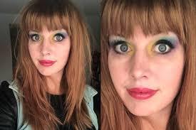makeup school denver science professor goes viral for chemistry inspired makeup