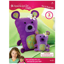 american crafts bears sew and stuff kit arts