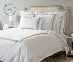 modern banded duvet covers in dual colors by boll u0026 branch