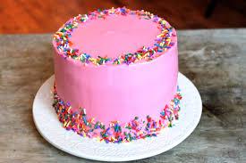 celebration cakes pink vanilla bean celebration cake the epicurean