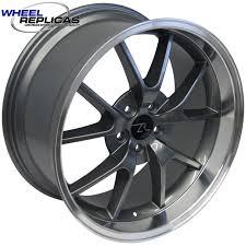 mustang replica wheels anthracite 20x10 fr500 replica mustang wheel