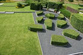 broos landscape architects project modern garden versus