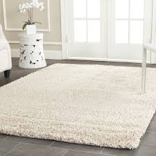 Front Door Carpet by Splendid Home Interior Decoration Using Furry White Carpet Tile