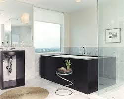 bathrooms classic bathroom with clawfoot bathtub and round glass