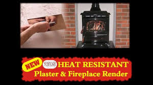 stop your plaster around your stove cracking youtube