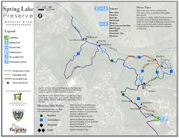 Austin Greenbelt Map by New Map Spring Lake Preserve San Marcos Greenbelt Alliance
