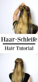 Frisuren Anleitung Schleife by Die Besten 25 Haarschleife Tutorial Ideen Auf