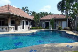 house with separate guest house nongpalai pool villa with separate guest house for sale pattaya
