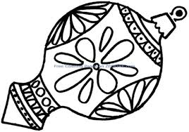 tree ornament coloring pages for christmas shimosoku biz