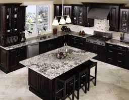 top black kitchen island with granite top u2014 railing stairs and