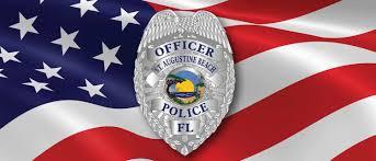 Ponce Flag Saint Augustine Beach Police