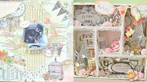 scrapbooking tutorial cornice discount paper crafts dt project scrapbook layout altered