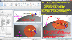 solved revit coordinate system and project site setup autodesk