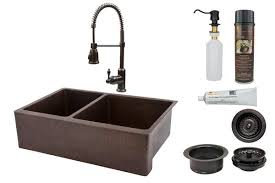 Sink With Double Faucet 33