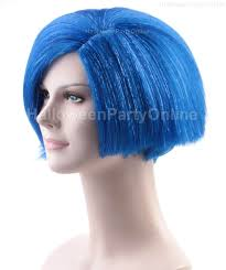 halloween party online online shop halloween party online sadness inside out wig blue