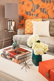 19 best orange wallpaper images on pinterest orange wallpaper eclectic living rooms from coddington design on hgtv