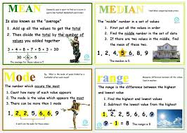 copy of mean mode median lessons tes teach