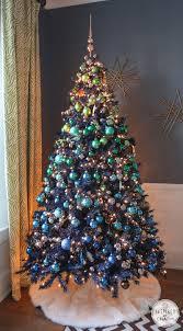 Blue And Silver Christmas Tree - blue christmas trees the crafty beachcomber farrahs blue white