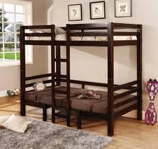 Bunk Bed With Loft Bedroomdiscounters Loft Beds Workstation Beds Tent Beds