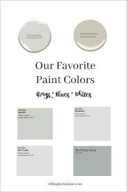 what wall color goes best with gray cabinets our favorite gray white neutral paint colors 11 magnolia