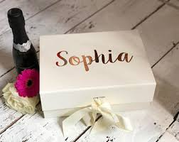 bridesmaid boxes bridesmaid boxes etsy