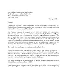 Formal Legal Letter by Letter To Ap Fv Pdf Docdroid