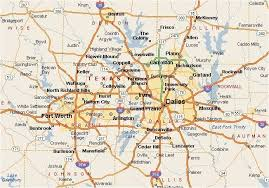 map of dallas fort worth the dallas fort worth metroplex a map covers
