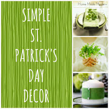 s day decor simple st s day decor home made modern