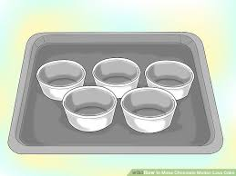 how to make chocolate molten lava cake 10 steps with pictures