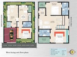 east facing duplex house floor plans duplex house plans east facing home design house plans 53044