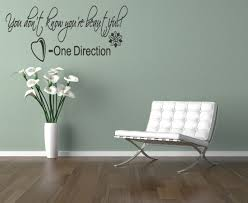 wall stickers quotes one direction color the walls of your house one direction wall art lyrics wall sticker you