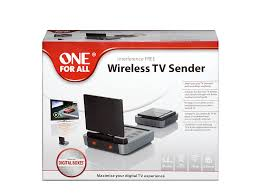 one for all wireless tv sender amazon co uk electronics