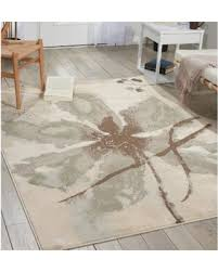 Nourison Area Rugs Amazing Deal On Nourison Euphoria Ivory Floral Area Rug 6 7 X 9 6