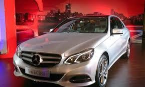 mercedes maker mercedes launches e class sedan at rs 41 5 lakh pictures