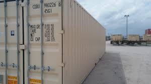 40 u2032 high cube double door shipping container