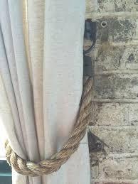 Diy Curtain Tiebacks Diy Restoration Hardware Curtain Tieback Hack Restoration
