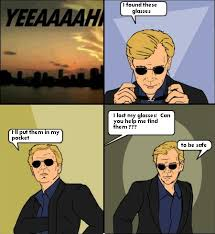 Horatio Caine Meme - face palm comics horatio caine i found these glasses