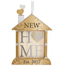 new home 2017 ornament keepsake ornaments hallmark