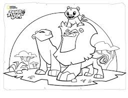 animal jam coloring pages getcoloringpages