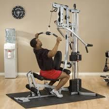 Home Gym by Amazon Com Powerline Bsg10x Home Gym Short Assembly 160 Pound