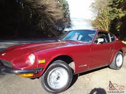 1974 nissan 260z early 260z datsun nissan with matching numbers 240z