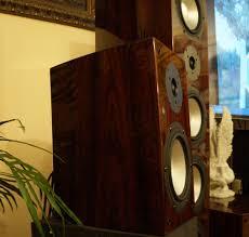 gorgeous rbh sv61 bookshelf speaker in high gloss rosewood high