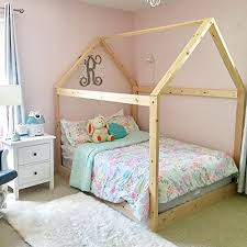 amazon com house bed frame full size handmade